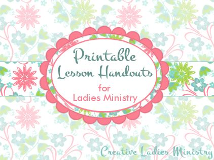 womens ministry printable bible study lessons | just b.CAUSE
