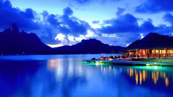 Бора-Бора најубавиот остров на светот (ВИДЕО)