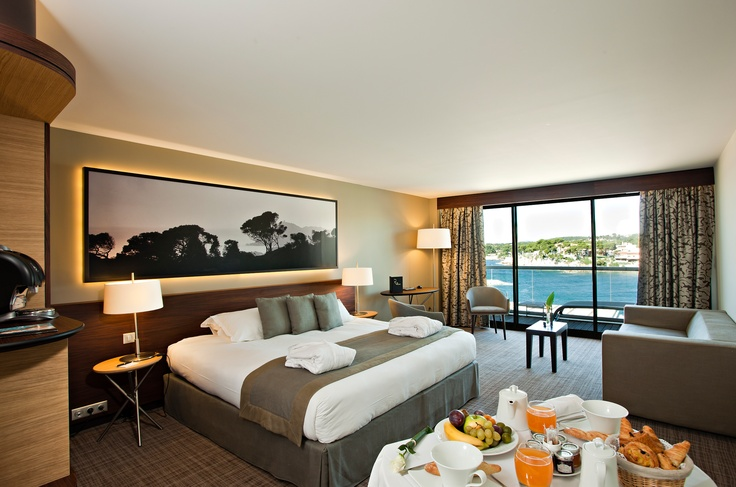Suite - Hotel Ile Rousse Thalazur #Bandol