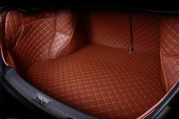 3D car styling  Custom fit car trunk mat all weather tray carpet cargo liner for Mitsubishi Outlander