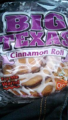 Big Texas Cinnamon Roll 4.0oz. (085264043703)