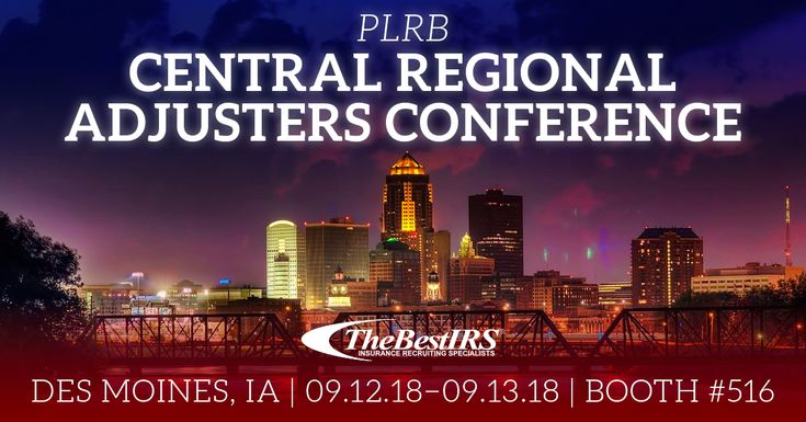 Thebestirs Will Be At Plrb Central Regional Adjusters Conference