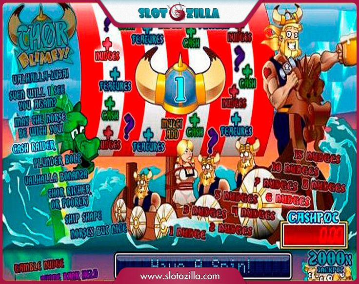 Thor Blimey free #slot_machine #game presented by www.Slotozilla.com - World's biggest source of #free_slots where you can play slots for fun, free of charge, instantly online (no download or registration required) . So, spin some reels at Slotozilla! Thor Blimey slots direct link: http://www.slotozilla.com/free-slots/thor-blimey