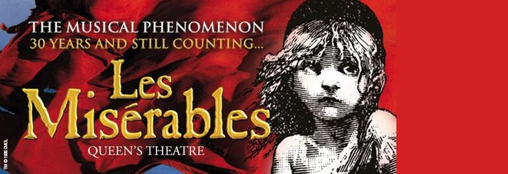 Les Miserables tickets from  £14.75