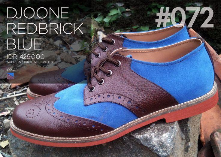 Men's Boots, 072 DJOONE Redbrick Blue. Download: http://lookbook.djoone.com