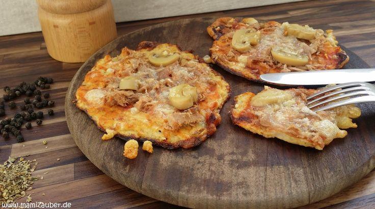 Size Zero Rezept Low Carb Blumenkohl-Pizza mit Harzer Käse