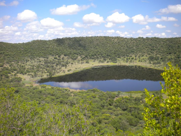 South Africa - Pretoria. Tswaing/Soutpan Meteor Crater