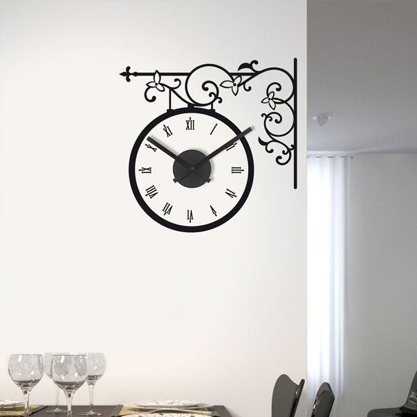 25 best ideas about wandtattoo uhr on pinterest. Black Bedroom Furniture Sets. Home Design Ideas