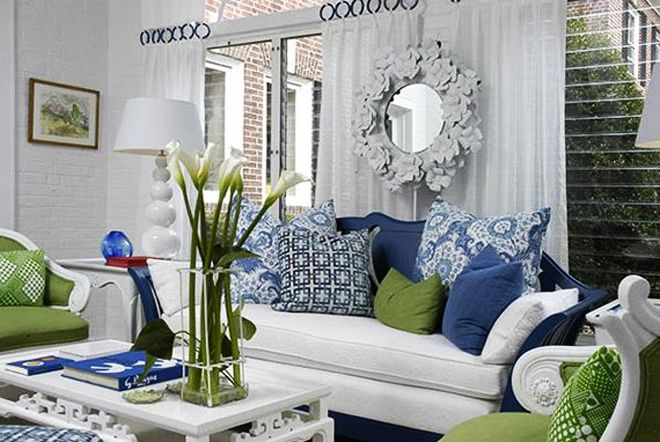 25 Blue and Green Interiors Design: An interesting and Fresh Colors Combination