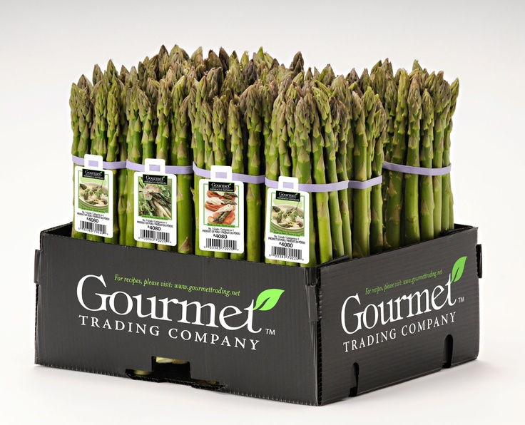 It's more than just a box of asparagus.