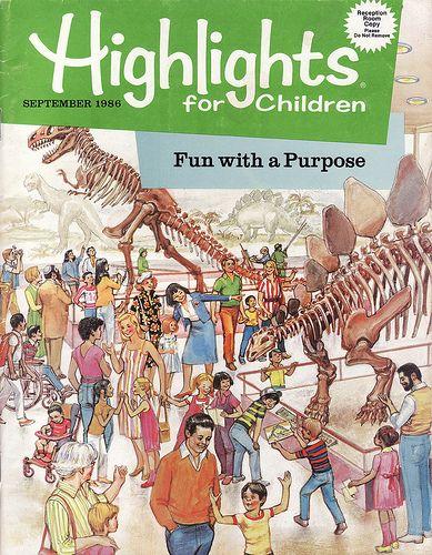 Highlights Magazine...LOVED!