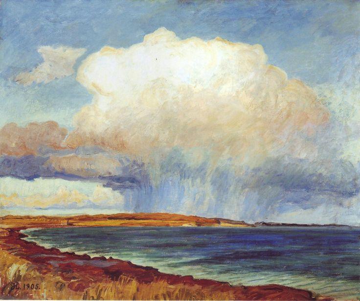 Johannes Larsen, akvarel