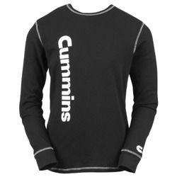 Image of Cummins Diesel Long Sleeve Thermal Shirt