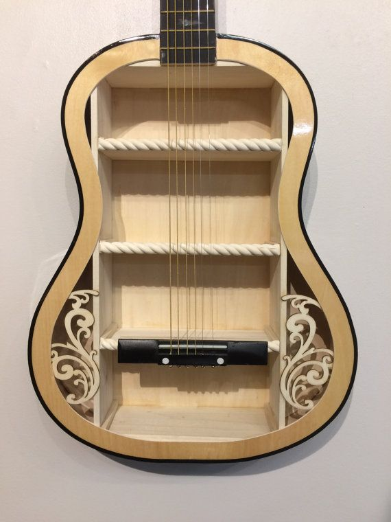 17 best ideas about guitar shelf on pinterest music for Acoustic guitar decoration
