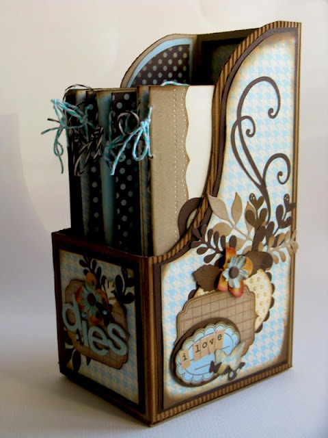 Decorated card holder
