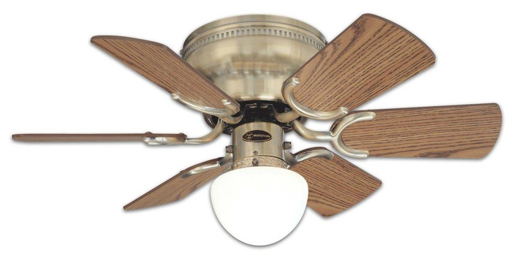 Dixie Belle Verde Green Ceiling Fan With 52 ABS Bleached Oak Blades
