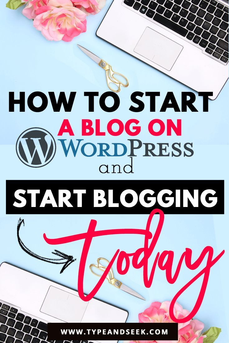 Learn How to start a blog on wordpress & Start Blogging today!This is basic steps tutorial on how to start a blog from scratch and especially how to start a blog on bluehost. Wordpress is the best platform to blog on.