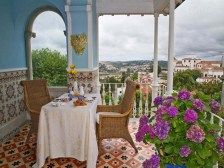 With its breathtaking views over Sintra, Villa Mira Longa is definitely one of the best hotels in Portugal.