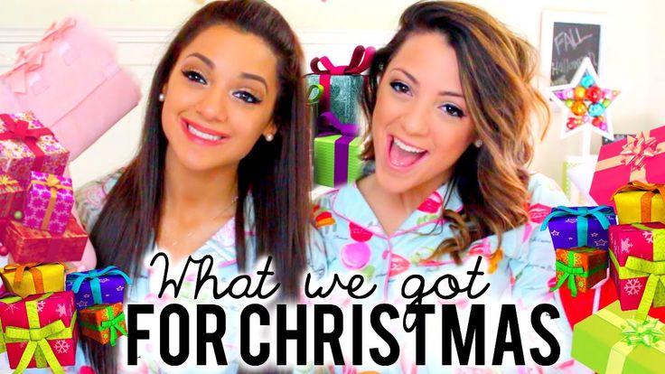 What we got for Christmas 2014!! Niki and Gabi ❄