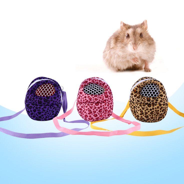Bolsa Del animal Doméstico 3 Tipos Portador Del Animal Doméstico Del Leopardo Hurón Chinchilla Hamster Rata del Erizo Bolsa de Dormir Al Aire Libre