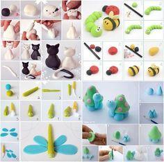 Wonderful DIY Super Cute Polymer Clay Animal | WonderfulDIY.com