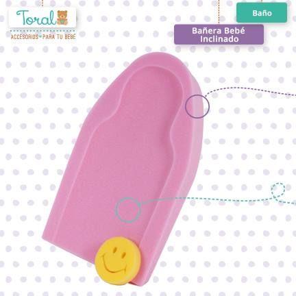 Nuestra bañera bebe inclinado posee la perfecta inclinación para ayudar a controlar el reflujo gástrico mientras le proporciona confort en su momento de baño. TORAL ¡Le damos la bienvenida a la vida!