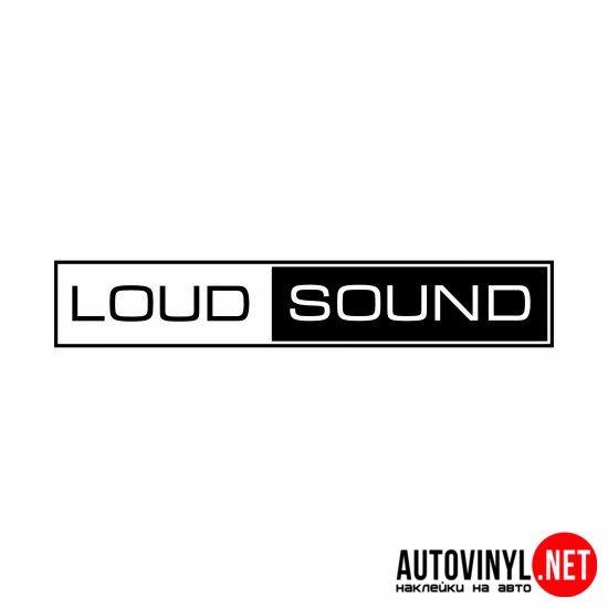 loud sound | купить наклейки на авто, по низким ценам