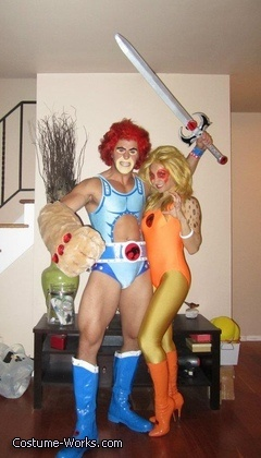 Thundercats Lion-o & Cheetara - couples Halloween costume idea  @Monica Rutkowski - please do this as a couples costume bc you two could totally pull it off!