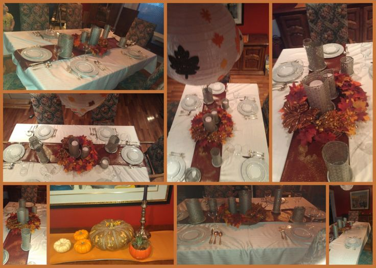 Diy thanksgiving table decorations Thanksgiving table decorations homemade