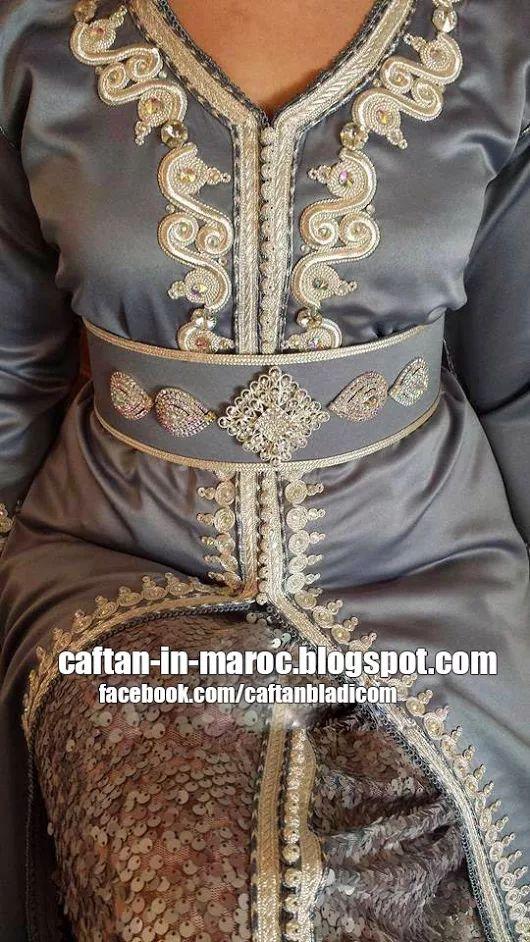 Caftan Marocain 2015 - Réalisations de Cette Saison ~ Caftan Marocain Boutique Takchita 2014 : Vente Location Caftan au Maroc