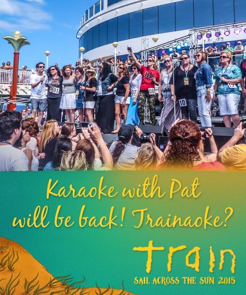 We're bringing this popular activity back! It's your turn to be the star and show off your vocals as you belt your favorite Train hit. This year we'll have auditions before the cruise, then we'll select 10 finalists to perform on board for Pat and all of your fellow cruisers! #sailacrossthesun #train #traintheband #livemusic #sxmliveloud #sixthman #cruise #vacation #beach #norwegiancruiseline #themedcruise #music #mermaid #goodtimes #keywest #greatstirrupcay #valentinesday