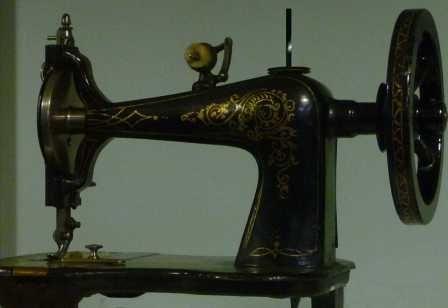 The Remington Empire Sewing Machine circa 1870.