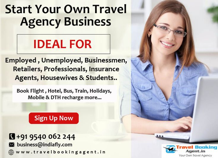 Start travel agency business without any registration fee and start booking online Air tickets, Train ticket, bus booking, holiday packages, Mobile & DTH recharge more....# https://goo.gl/T7SOXj