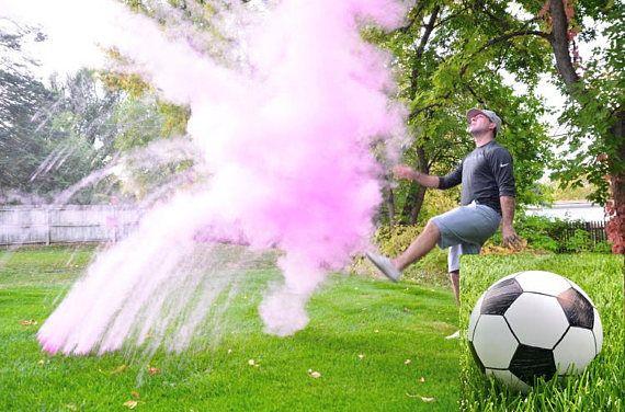 Futbol bola género revelar revelar de género género revelan