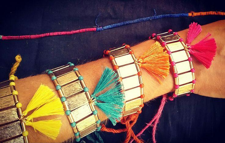 Tassels Bracelets by Olga Cas