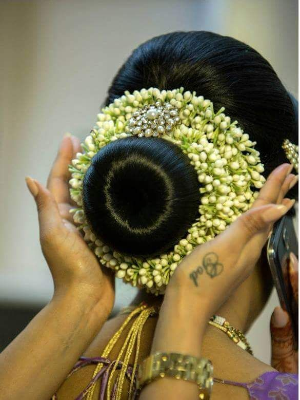 87 best bride kondai images on Pinterest | Hair dos, Hairstyle ideas and Indian wedding hairstyles
