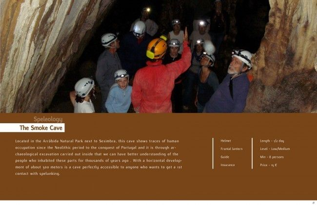 Speleology, Caving, spelunking or Potholing Lisbon - Go Discover Portugal travel