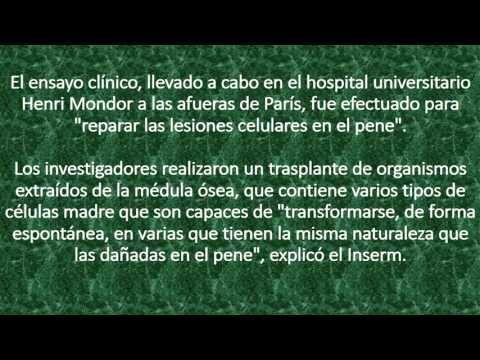 Tratamiento de Disfunciòn Erectil con Celulas Madre