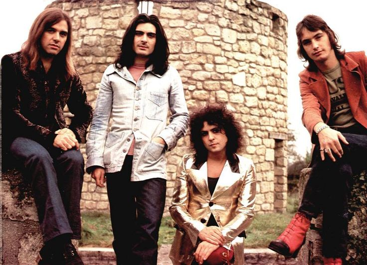 T.rex - Chateau d'Herouville, France, Oct. 1972. 'Tanx
