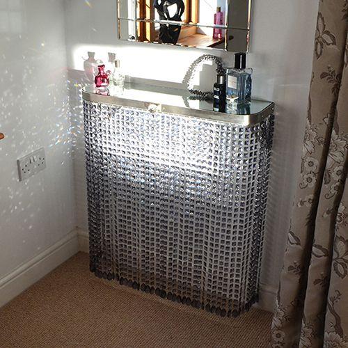 Crystal radiator cover