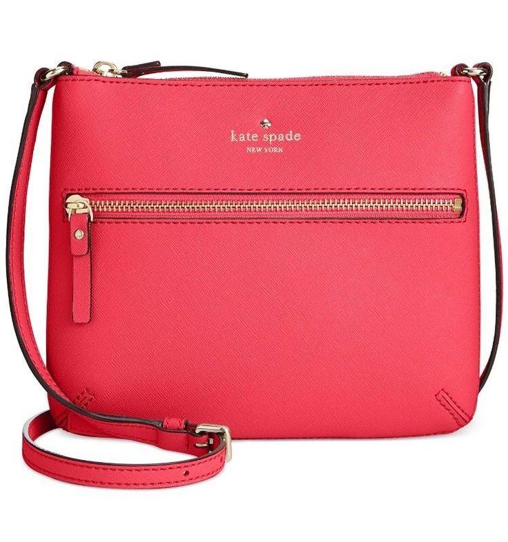 New Kate Spade New York Cedar Street Tenley Crossbody $178 Flo Geranium Bag  | eBay