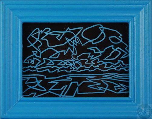 """Piotr Rubiecki """"Blue'"""