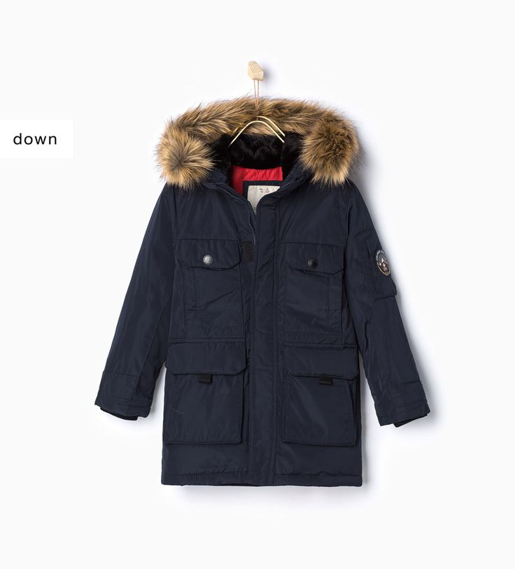 ZARA - KIDS - Feather parka