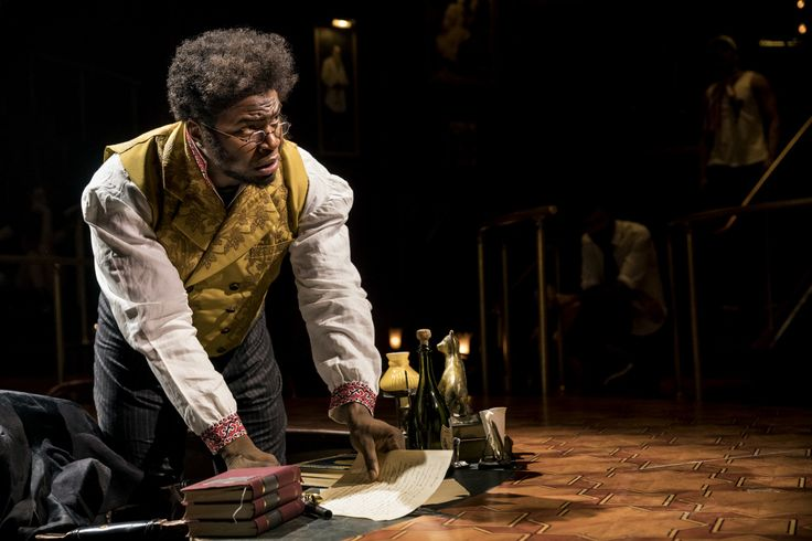 Andrey isn't here—but Hamilton OG Okieriete Onaodowan is back on Broadway in Natasha, Pierre & the Great Comet of 1812. Though he may not ...