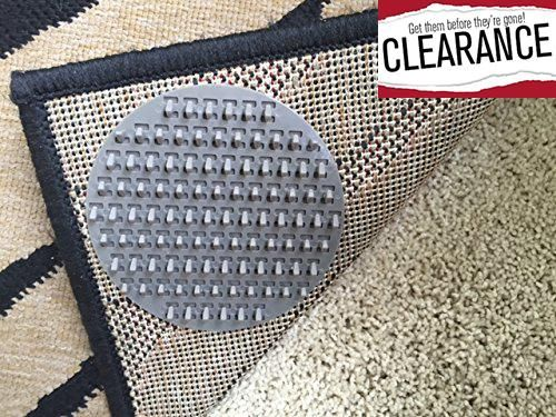 #homedecor BRAND NEW! Carpet Anchor - Rug On #CARPET Anti-Slip #Pads - 8 Pack • Carpet Anchor's Spiked Pads Will Limit The Movement Of Medium-Large Rugs/Door Mats...