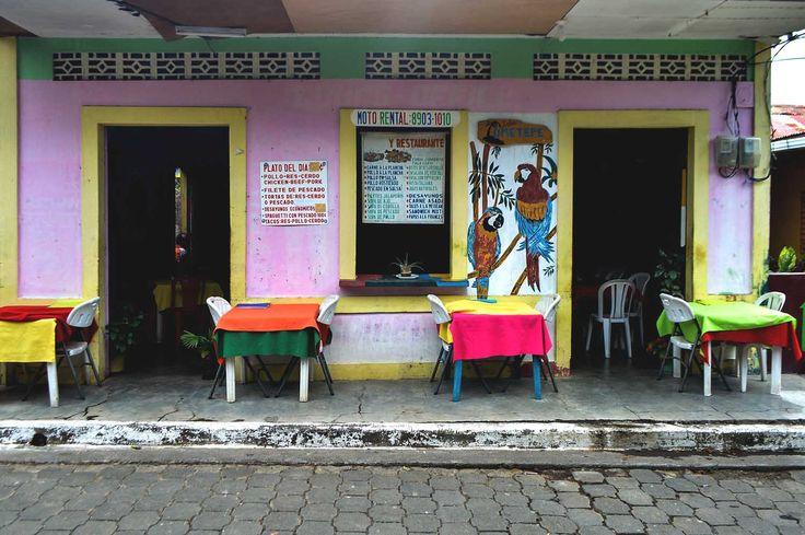 A local restaurant in Moyogalpa on Isla de Ometepe in Nicaragua | heneedsfood.com