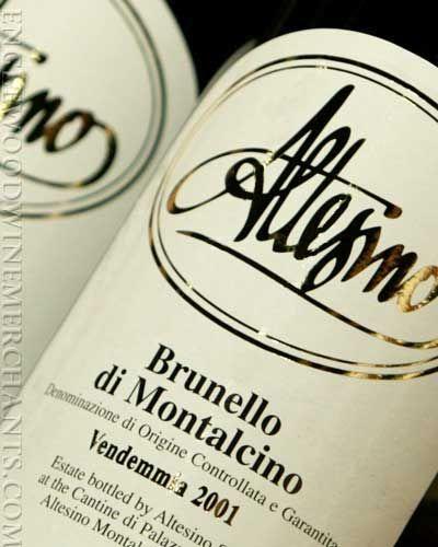 brunello di montalcino, altesino vineyards - montalcino, tuscany