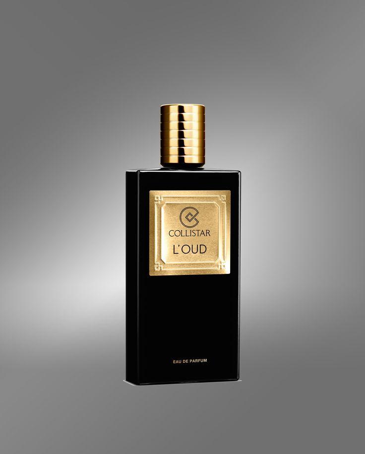 Collistar Prestige Collection L'Oud eau de parfum, una fragranza perfetta per lei e per lui. Un legnoso-chypre-fiorito che vibra nelle note di cuore e che accende i sensi. Presenta un'esordio di bergamotto, zafferano e cuoio, un cuore di rosa bulgara, oud e labdano e un'abbraccio finale di legno di sandalo, gaiac e patchouli. L'oud è tra i legni più pregiati e costosi al mondo oltre ad essere un ingrediente d'eccezione per creazioni di alta profumeria.