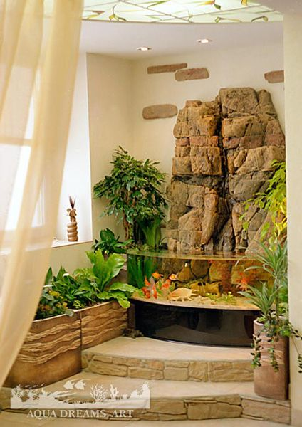 Ideas for the aquarium in the modern home and office with the needs of space and functionality in sync with the rest of the interior.