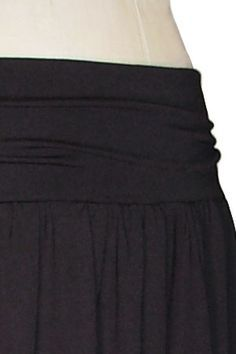 DIY Easy Gathered Jersey Knit Skirt - FREE Sewing Tutorial